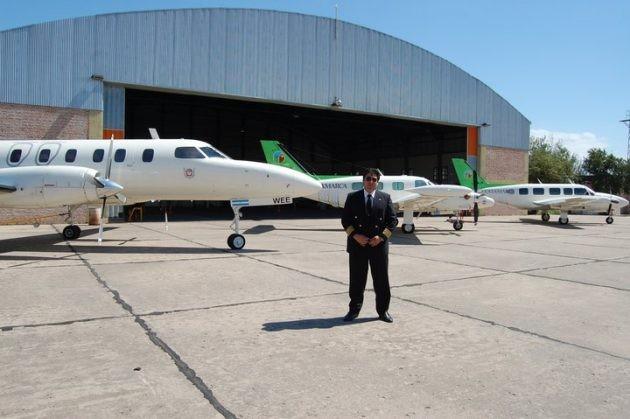 """""""En San Luis nacen los mejores pilotos privados de avión"""""""