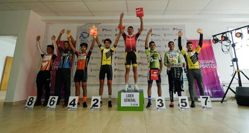 Con una emocionante definición, la última etapa del Tour de San Luis Sub 21 se vivió en La Pedrera