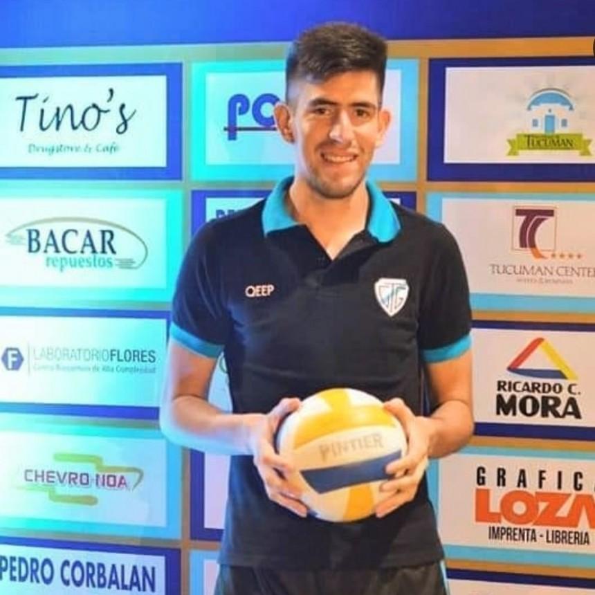 El puntano Sergio Frías nuevo refuerzo de Club Tucumán de Gimnasia