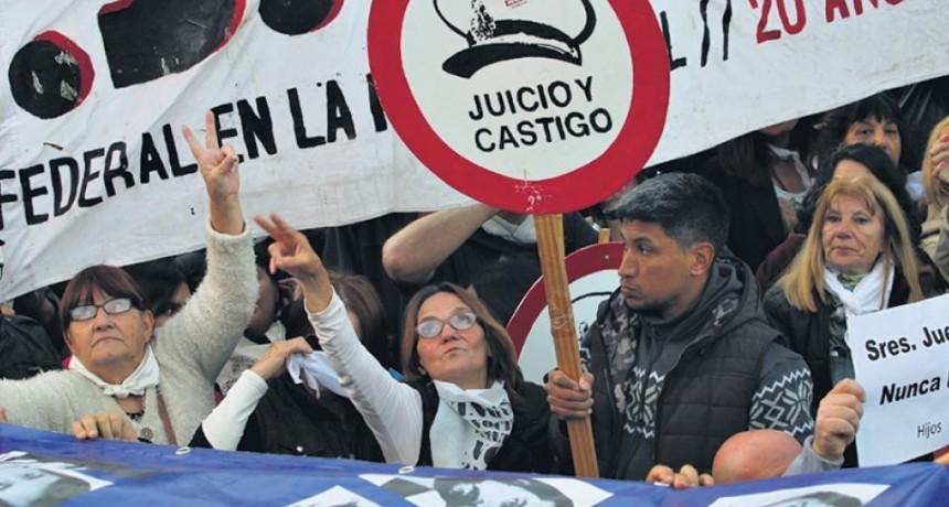 Lesa humanidad: el 70 por ciento de las condenas no están firmes