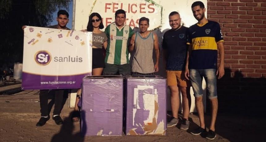 """La Fundación Sí  San Luis  hizo parte  del reparto de la Colecta  Nacional  """"Un Mundo de Gente"""""""