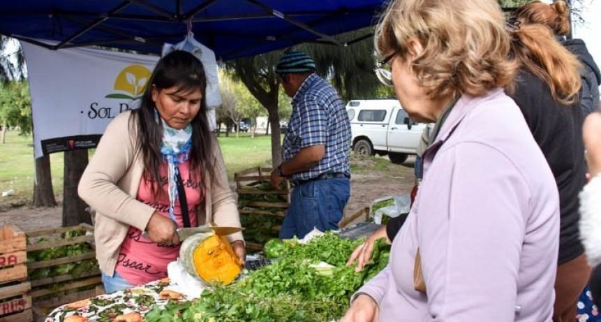 """Este martes los productos y las verduras de """"Sol Puntano"""" llegan a una populosa barriada"""