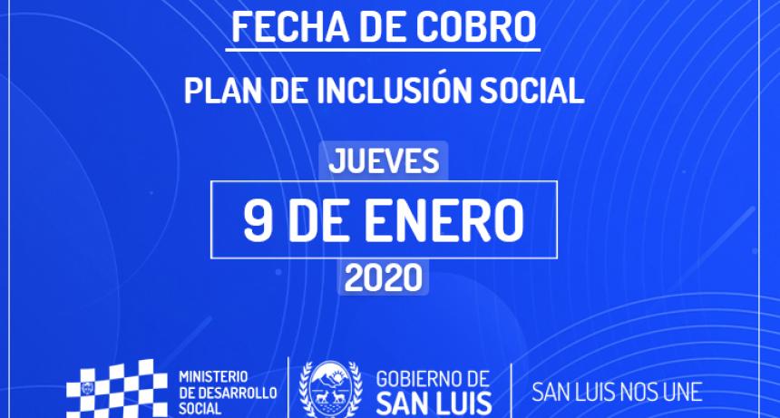 Este jueves cobran los beneficiarios del Plan de Inclusión Social