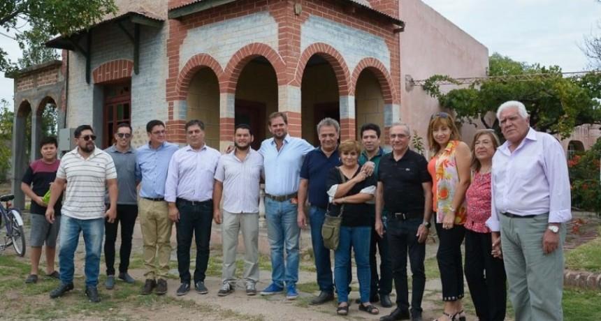 Una casa histórica de Quines será convertida en un Centro Integrador, Deportivo, Cultural y Administrativo