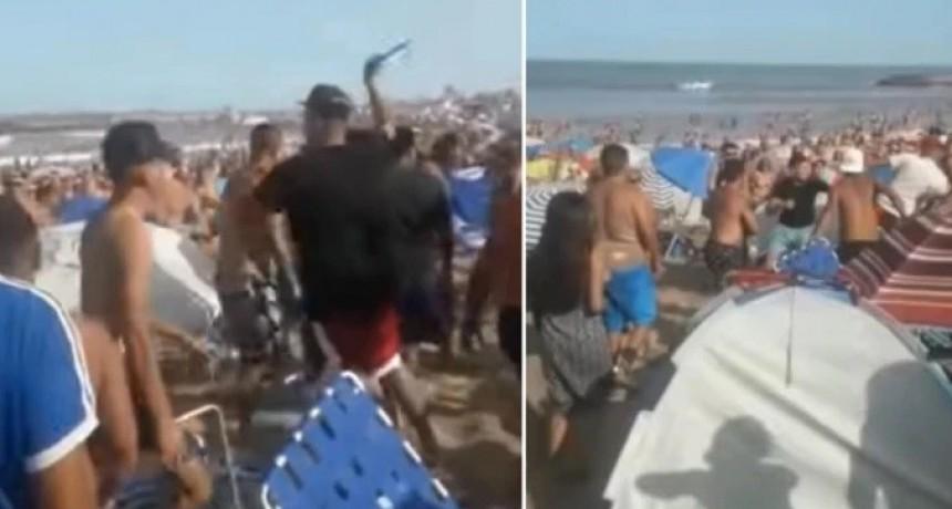 Descontrol en una playa de Mar del Plata: pidió que bajaran la música, lo atacaron a trompadas