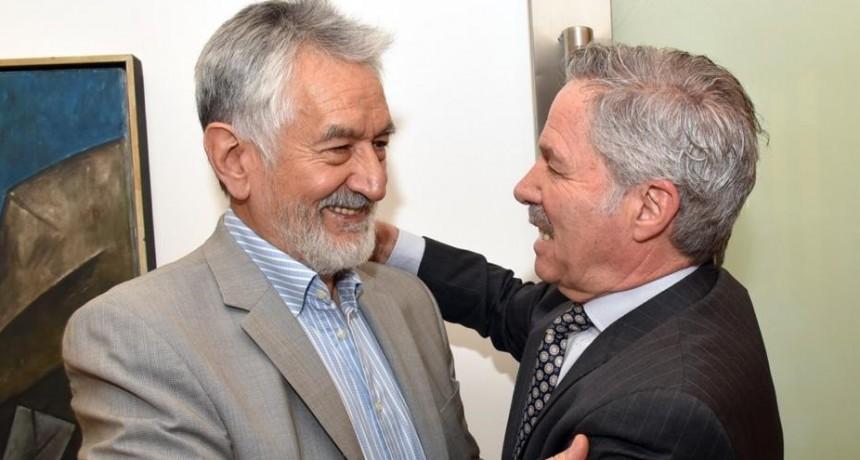 El gobernador mantuvo encuentros diplomáticos y protocolares
