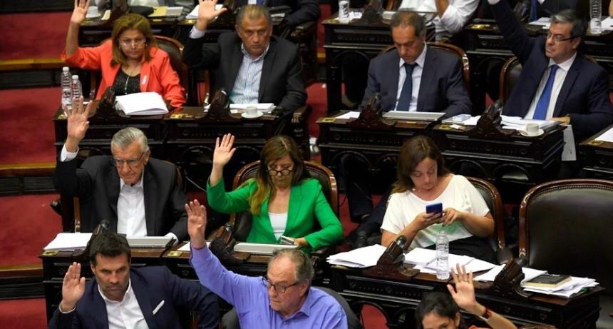 Diputados aprobó la renegociación de la deuda