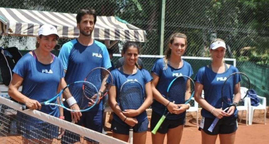 La Selección Argentina de Tenis ya está en San Luis
