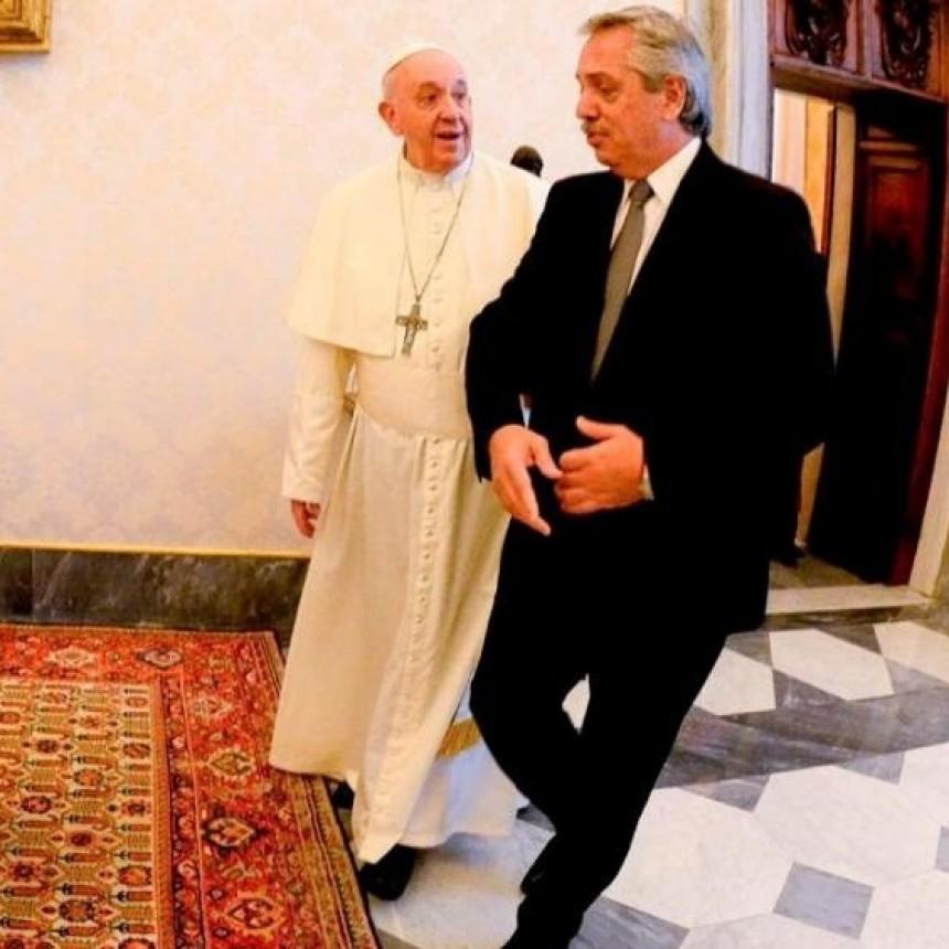 Un canal abierto entre Alberto Fernández y el Papa Francisco