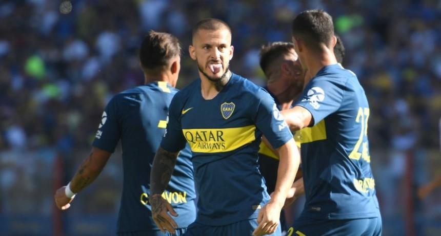 Boca le ganó a Godoy Cruz en un partido con polémica