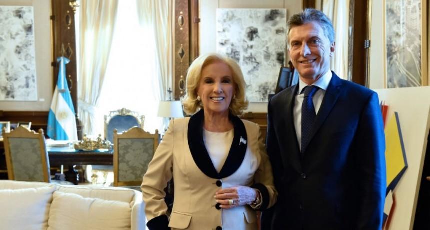 Mirtha Legrand respalda a Macri: