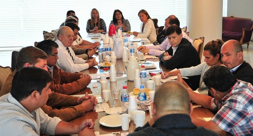 Reunión de Gobierno con Intendentes de la provincia