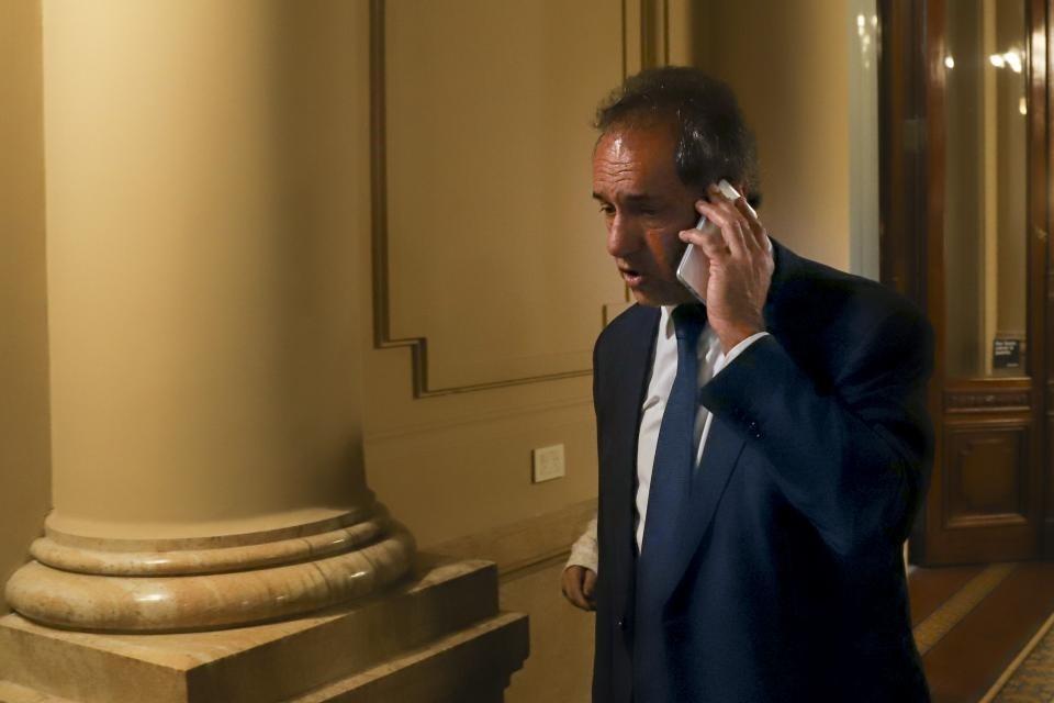 Diputados: la presencia de Daniel Scioli despertó la furia de Juntos por el Cambio