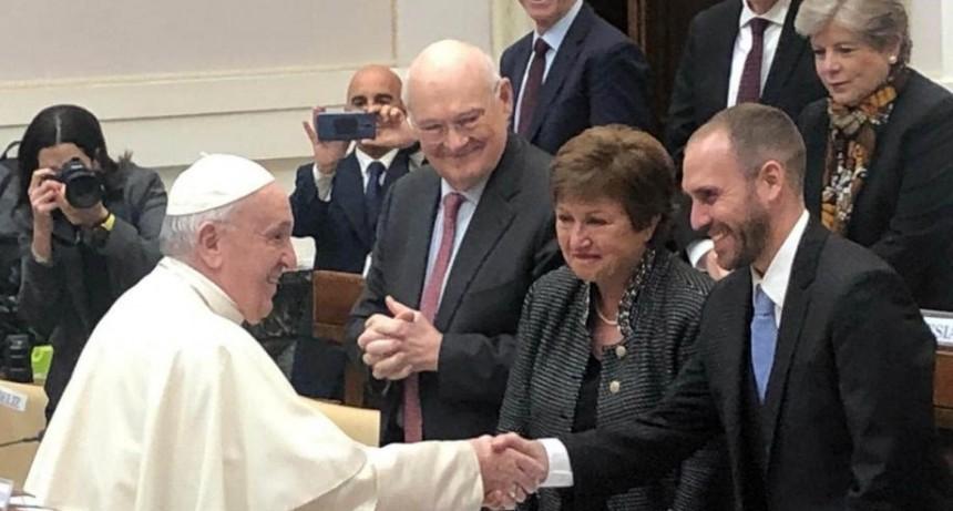 Definición del Papa frente a Georgieva: