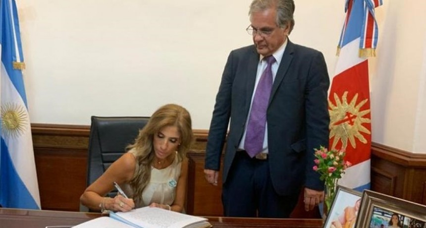 Claudia Ledesma Abdala quedó a cargo de la Presidencia
