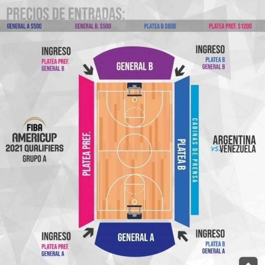 Este sábado se pondrán a la venta las entradas para el partido entre Argentina y Venezuela