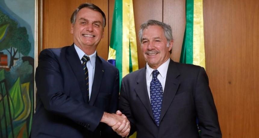 Bolsonaro le propuso a Alberto Fernández una reunión en Montevideo el 1º de marzo