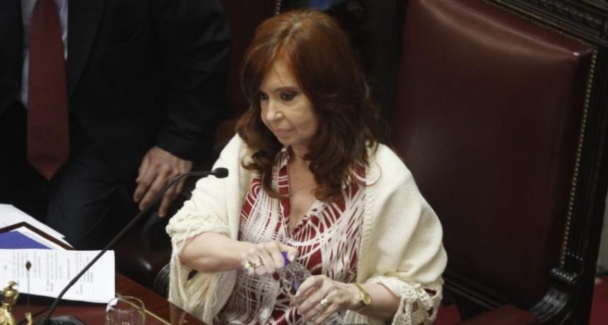 Cristina aclaró que no promovió un proyecto de su bloque que restringe las prisiones preventivas