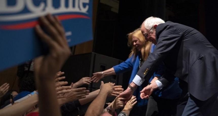 Berni Sanders arrasó en Nevada y se consolida al frente de los demócratas