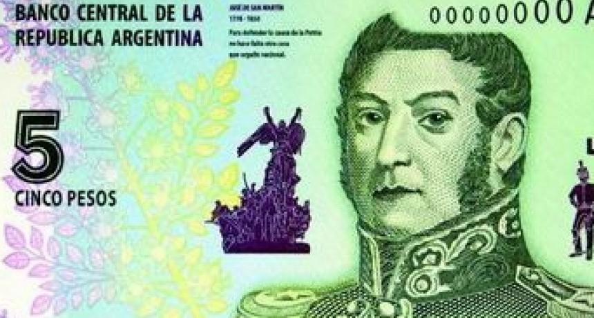 SÓLO HASTA EL SÁBADO SE PODRÁN UTILIZAR BILLETES DE $5