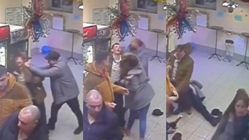 ¡No juegues con las rusas!: Una dependienta se gana la admiración de una estrella de la UFC con un espectacular nocaut (VIDEO)