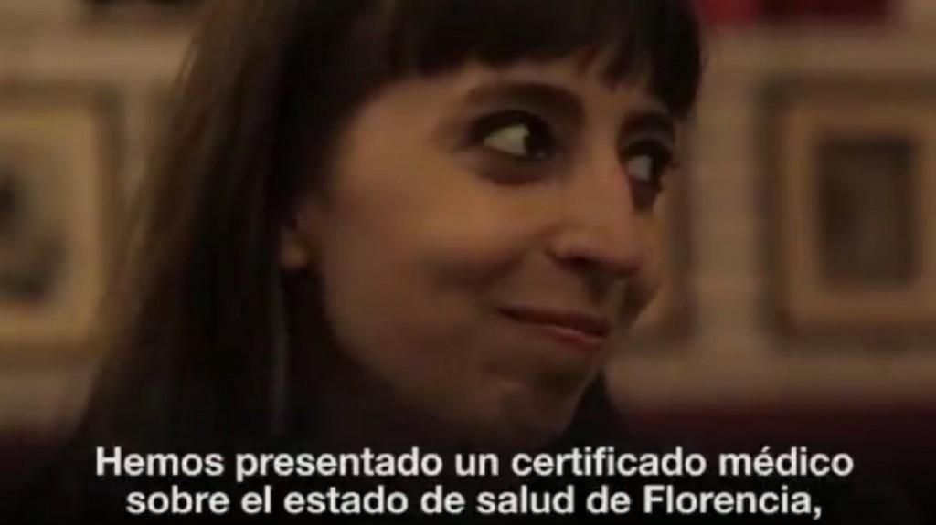 Cristina Kirchner explicó en un video qué problema de salud tiene su hija Florencia
