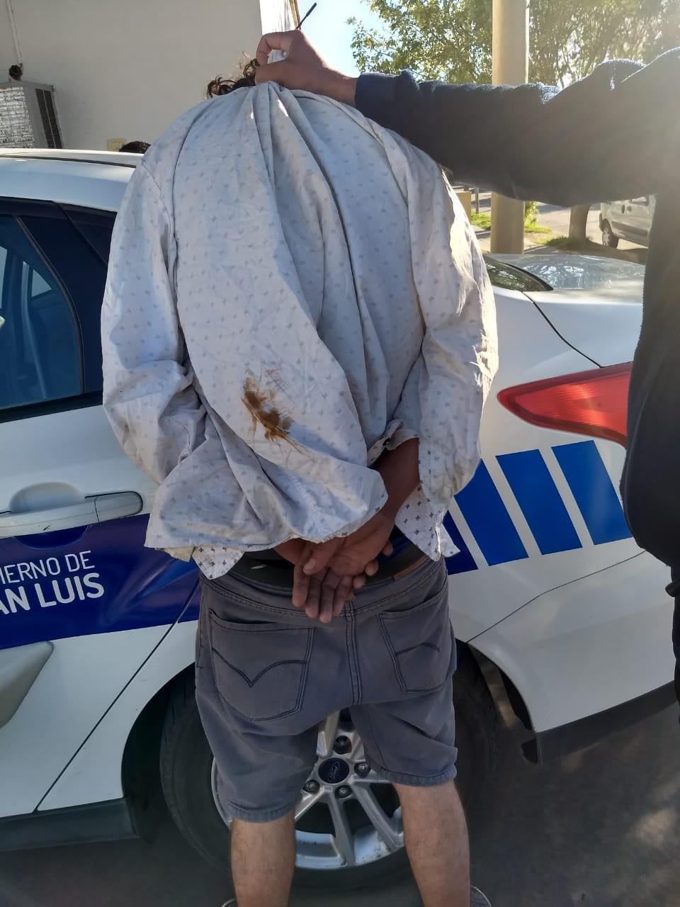 San Luis: detenido por intento de robo a una vivienda
