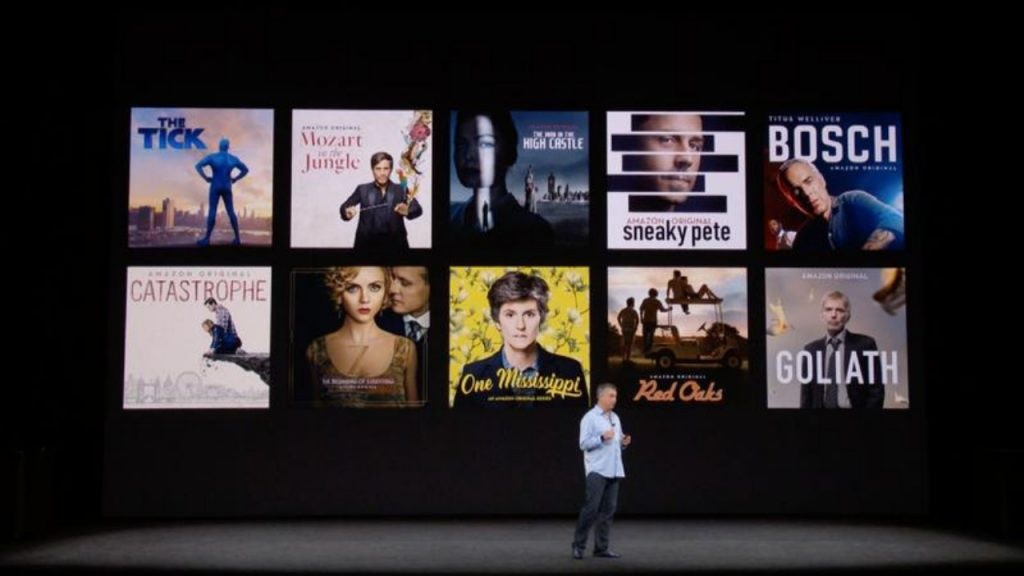 Apple presentó su nuevo servicio de video en streaming