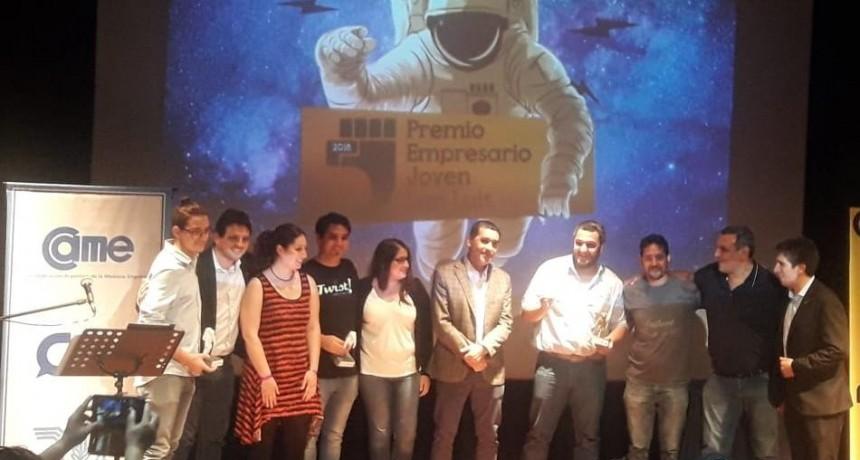 Un Mercedino ganó el premio al Joven Empresario de San Luis