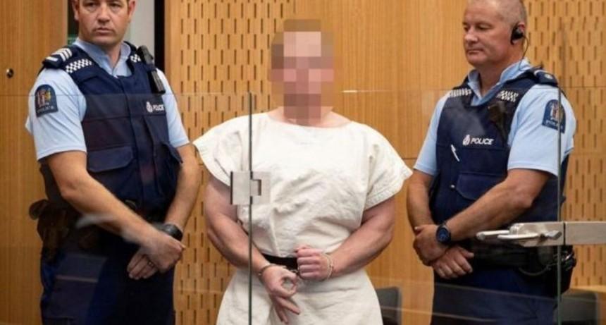 El autor de la masacre de Nueva Zelanda echó a su abogado y se defenderá solo