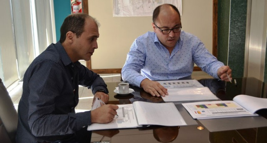 El ministro de seguridad  y el jefe de Policía programan nuevas acciones para combatir el delito