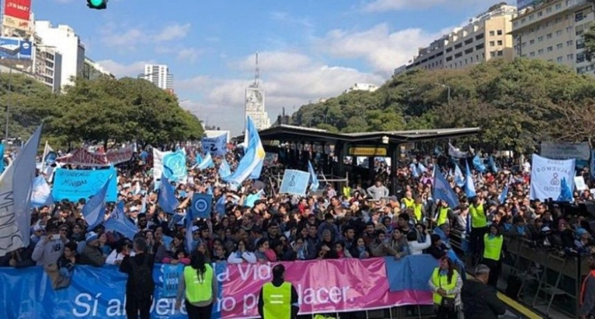 Marcha federal del movimiento Provida