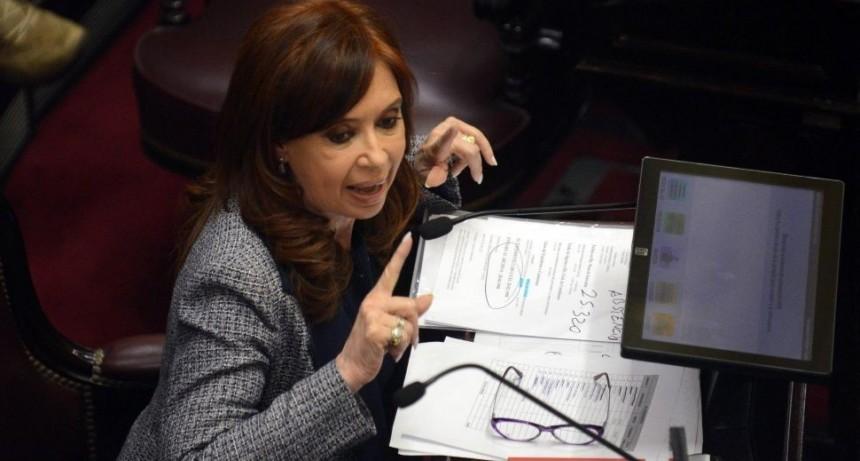 Cristina denunció supuesto espionaje