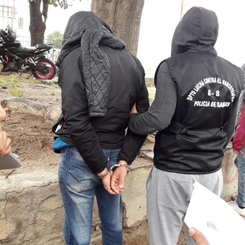 San Luis: detuvieron a una persona con droga