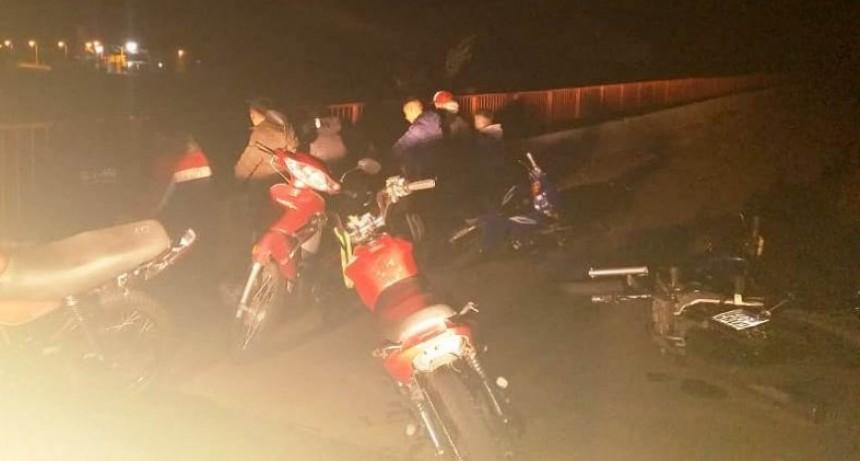 Villa Mercedes: 8 jóvenes fueron demorados por correr picadas