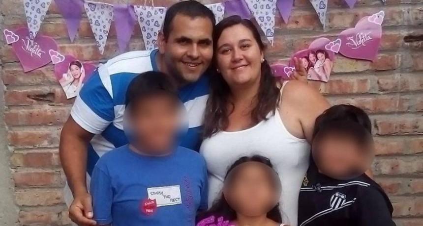 Fusiló a la esposa, madre de sus tres hijos, y se suicidó