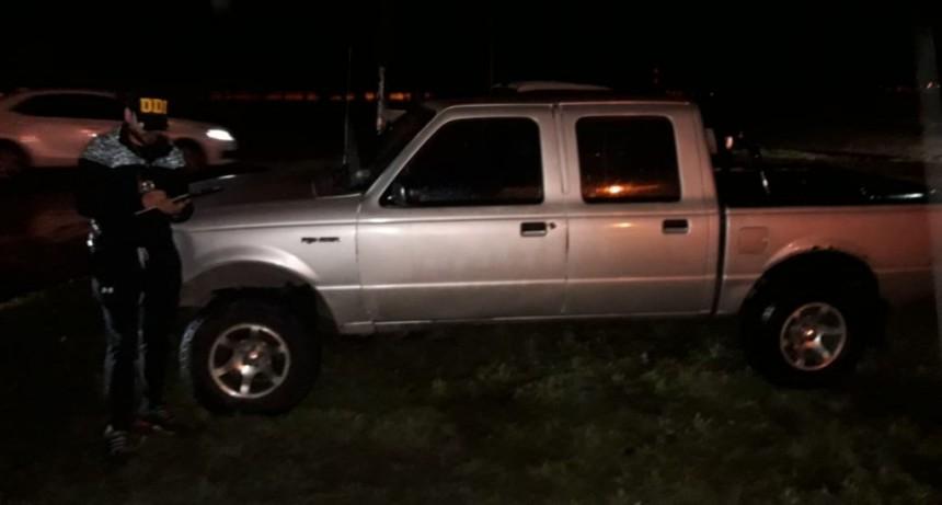 San Luis: secuestraron una camioneta buscada en Córdoba
