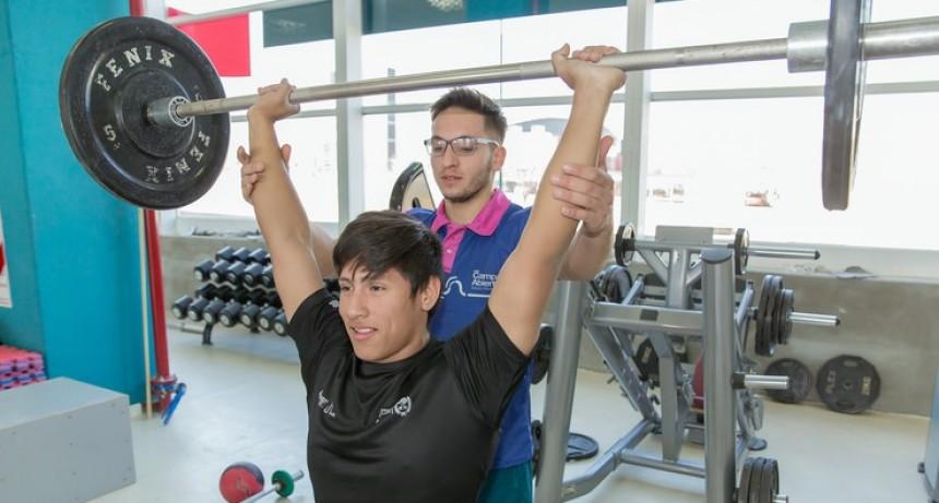 El domingo se realizará un torneo de levantamiento olímpico en el Campus