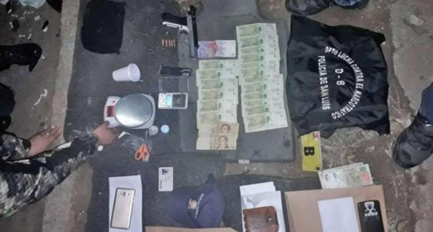 San Luis: policía y serena de colegio se dedicaban al narco delivery