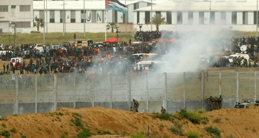 Matan a dos menores palestinos durante las protestas en Gaza