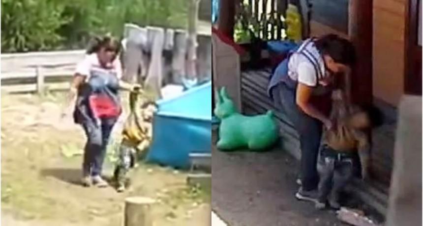Villa La Angostura: grabaron a una maestra mientras maltrataba a nenes en un jardín