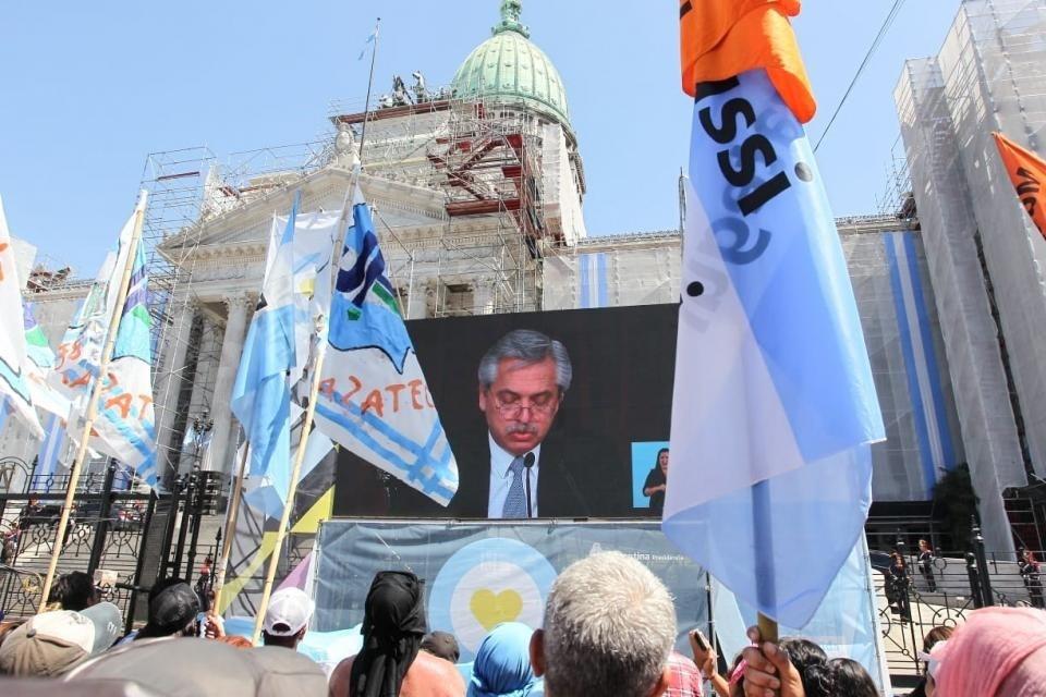 Aborto y otras definiciones centrales de Alberto Fernández en la apertura de sesiones ordinarias 2020