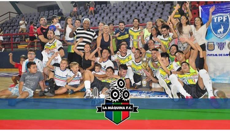 La Máquina Futsal se consagró campeón del Torneo Provincial