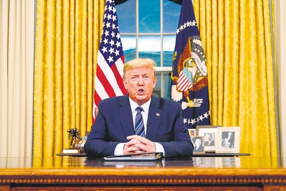 Donald Trump les cierra el ingreso a los europeos