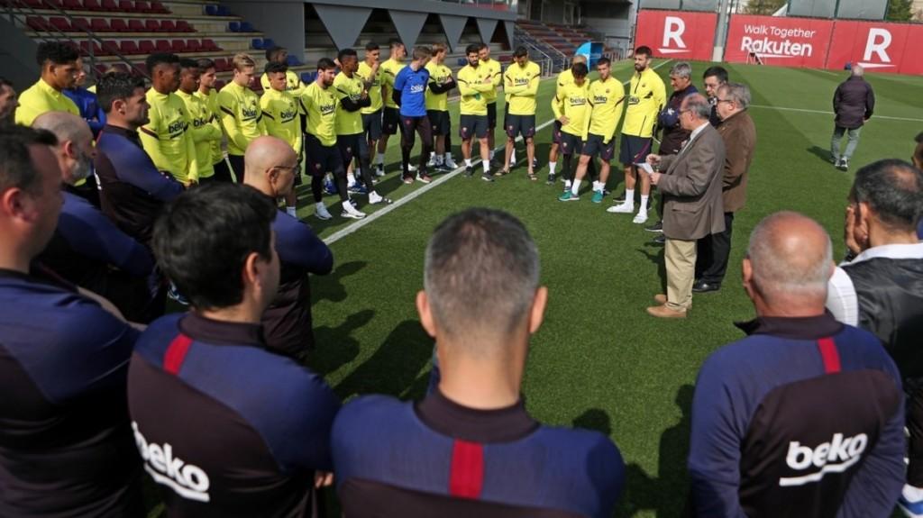 Coronavirus: Lionel Messi y sus compañeros del Barcelona entraron en cuarentena