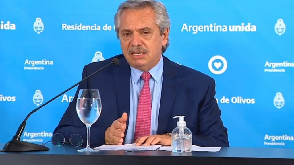 Alberto Fernández a Rocca:
