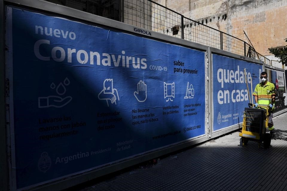 Muertos por coronavirus en Argentina: el número de fallecidos sigue en aumento