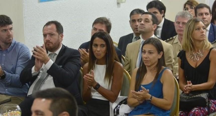 La jefa de Gabinete participó de la apertura de sesiones ordinarias del Concejo Deliberante capitalino