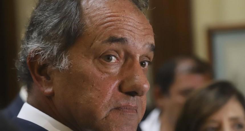 Scioli presentó su renuncia como diputado para asumir como embajador en Brasil