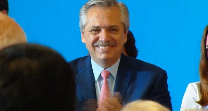 Alberto Fernández presentó los medicamentos gratis para afiliados del PAMI